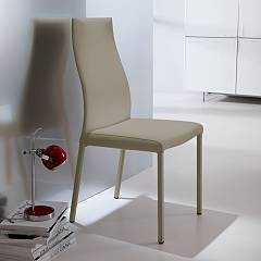 Ozzio S321 Blitz Chair covered in eco-leather / leather
