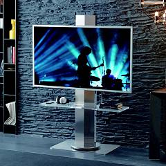 Ozzio X011 Uno Tv stand with rotating frame