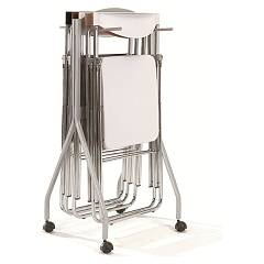 Ozzio S261 Nobys Carrello Trolley for 6 chairs nobys