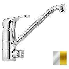 Paffoni De184co Kitchen mixer - chrome gold with dishwasher connection Denver