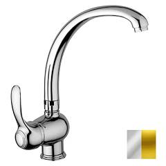Paffoni Fa181co Kitchen mixer - chrome gold Flavia
