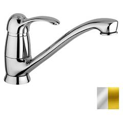 Paffoni Fa182co Kitchen mixer - chrome gold Flavia