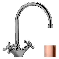 sale Paffoni Irv180rm - Iris Kitchen Faucet - Copper