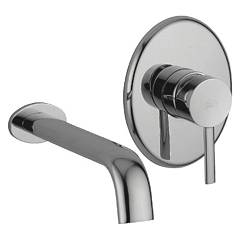 Paffoni Br007cr Lavabo mixer - chrome wall-mounted Berry