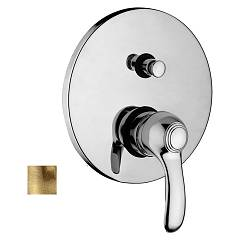 Paffoni Fa015br Built-in shower mixer - bronzed Flavia