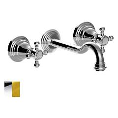 Paffoni Fblv008co Sink pipa - chrome gold Belinda