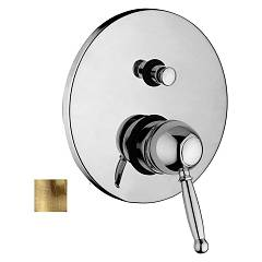 Paffoni Gi015br Built-in shower mixer - bronzed Giorgia