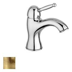 Paffoni Gi071br Basin mixer without drain - bronzed Giorgia