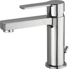 Paffoni Ws075cr-es Washbasin mixer with drain and eco - chrome technology West