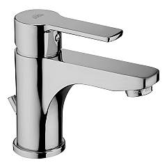 Paffoni Red075cr Washbasin mixer with drain - chrome Red