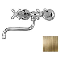 Paini 17f3501 - Liberty Tap kuhinja wall - antique brass