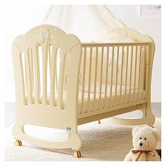 Pali Prestige Principe Crib wood with drawer