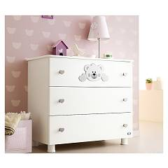 Pali Funny Chest of drawers in wood with three drawers