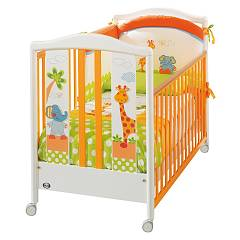 Pali Gigi E Lele Crib wood with drawer