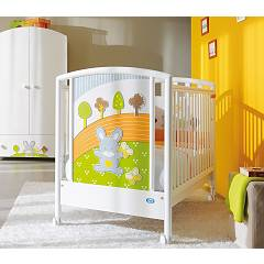 Pali Smart Bosco Crib wood with drawer
