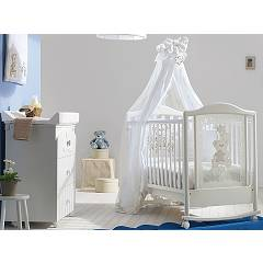 Pali Meggie Crib wood with drawer