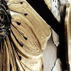 Panel design 197 x 67 cm Pintdecor Petunia Gold - Detail