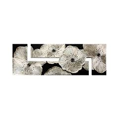 Pintdecor Petunia Argento Panel design cm 197 x 67