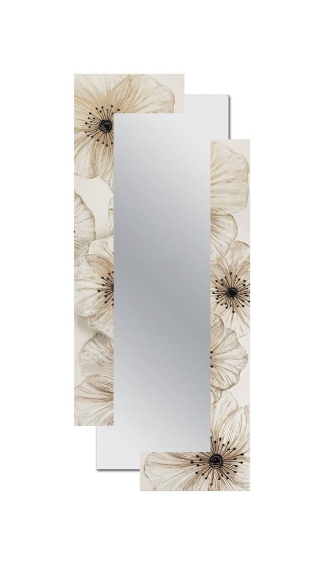 Mirror 80 x 190 cm Pintdecor Petunia Decomposed
