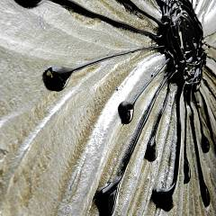 Spiegel cm 120 x 80 Pintdecor Petunia Oro Decomposed Klein - Detail