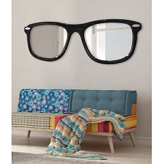 Mirror 150 x 50 cm Pintdecor Glasses - Setting