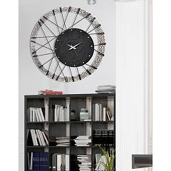 Clock 70 x 70 cm Pintdecor Wheel - Setting