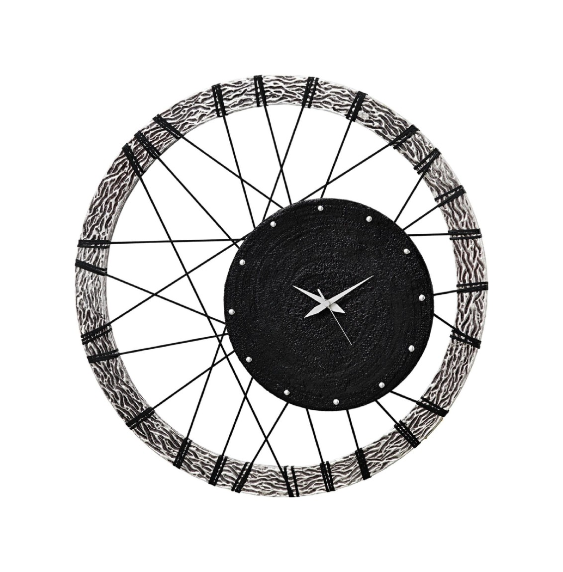 Clock 70 x 70 cm Pintdecor Wheel