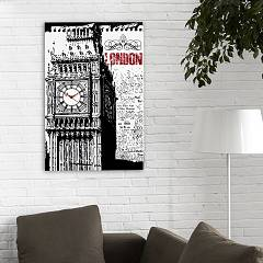 prodaja Pintdecor Big Ben P3562 Watch Cm 40 X 60