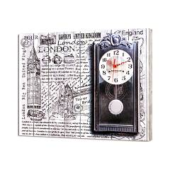 Pintdecor Big Ben Time Uhr cm. 50 x 40