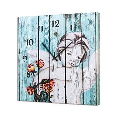 Pintdecor L'angelo Delle Rose Clock cm. 40 x 40