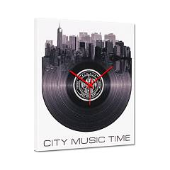 Pintdecor City Music Time Uhr cm. 40 x 50