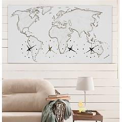 Pintdecor WORLD P4544 Uhr 140 x 70 cm