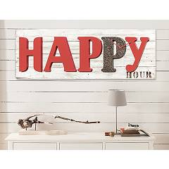 sale Pintdecor Happy Hour P4608 Clock Cm 120 X 40