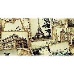 Pintdecor Cartoline Picture cm. 80 x 40/140 x 70