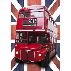Pintdecor Bus A Due Piani Picture cm. 70 x 100