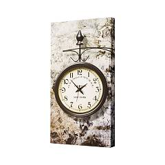 Pintdecor GRAND CENTRAL NY Uhr cm. 40 x 80