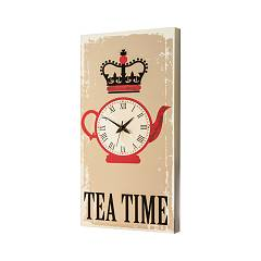 Pintdecor TEA TIME Uhr cm. 40 x 80