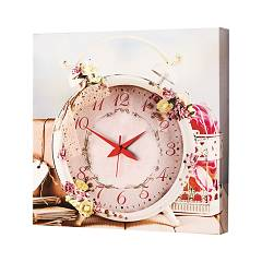 Pintdecor Pink Time Watch cm. 40 x 40