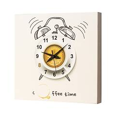 Pintdecor COFFEE TIME Uhr cm. 40 x 40