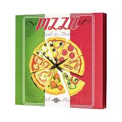 Pintdecor PIZZA TIME Uhr cm. 40 x 40