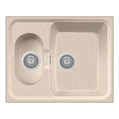 Plados Telma Hr6151 Ug 94 - Microultragranit Sink 1 bowl and half reversible cm. 62x50 - oats Roxana