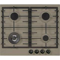 Plados Telma Slim60 Ug 72 Hob cm. 60 x 51 - 3 gas burners + 1 triple crown - truffle