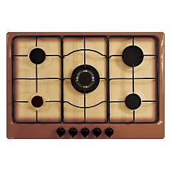 Plados Telma Star 75 - Uq 66 Hob cm. 75 x 51 - 4 fires + 1 triple valve crown - land of france