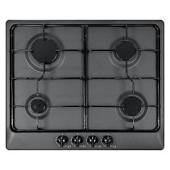 Plados Telma Star60 Ug 70 Hob cm. 60 x 51 - 4 gas burners - matt black
