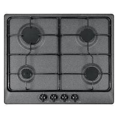 Plados Telma Star60 Ug 95 Hob cm. 60 x 51 - 4 gas burners - black ebony