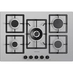 Plados Telma Flat75 Um 41 Hob cm. 75 x 51 - 4 burners + 1 triple crown - aluminum