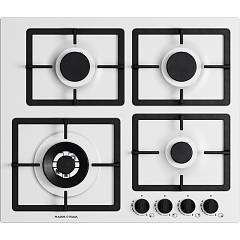 Plados Telma Flat60 Ug 58 Hob cm. 60 x 51 - 3 fires + 1 triple crown - milk white