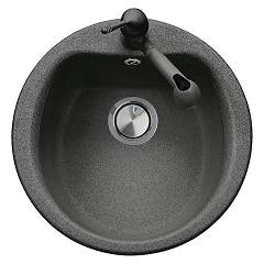 sale Plados Pl5101 - Ultrametal - Atlantic Sink Round Diameter Flush Cm. 51 1 Bath With Hole For Cock