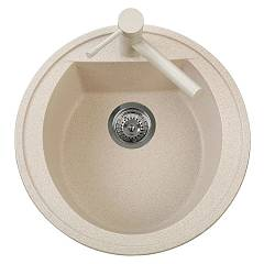 sale Plados Nk05110 - Ultrametal - Harmony Sink Round Diameter Flush Cm. 51 1 Bath With Hole For Cock