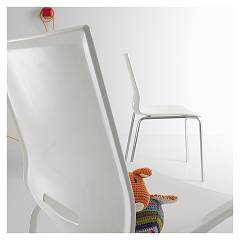 Photos 4: Point House Chair in metal and polypropylene ELENA 4